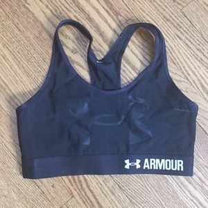Under Armour racer back sports bra